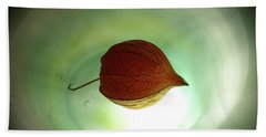 Lampionblume - Physalis Alkekengi Bath Towel