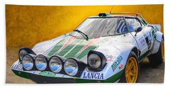 Lancia Stratos Bath Towel