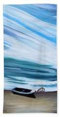 Land Meets Sky Hand Towel by Marilyn  McNish