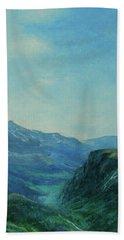 Land Of Dreams Bath Towel by Jane See