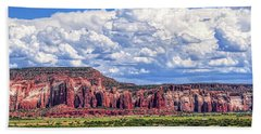 Hand Towel featuring the photograph Land Of Enchantment by Gina Savage
