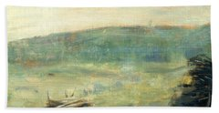Landscape At Saint-ouen Hand Towel