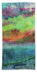 Landscape Of My Mind Hand Towel by Lenore Senior