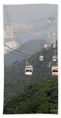 Hand Towel featuring the photograph Lantau Island 53 by Randall Weidner