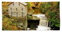 Lantermans Mill In Fall Hand Towel