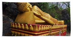 Hand Towel featuring the photograph Laos_d602 by Craig Lovell
