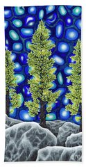 Larch Dreams 2 Hand Towel