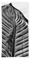 Large Leaf Bath Towel