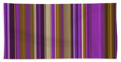 Large Purple Abstract - Three Hand Towel