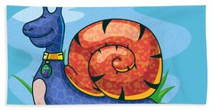 Larry The Snail Hand Towel