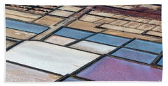 Hand Towel featuring the photograph Las Salinas by Delphimages Photo Creations