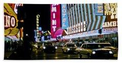 Las Vegas 1964  II Bath Towel