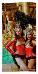 Las Vegas Showgirls Hand Towel
