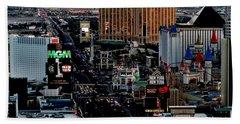 Las Vegas Strip Hand Towel