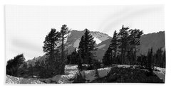 Hand Towel featuring the photograph Lassen National Park by Lori Seaman