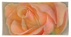 Last Autumn Rose Hand Towel by Jacqi Elmslie