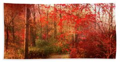 Last Color Of Fall Hand Towel