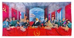 Last Communist Supper 30 - Pa Hand Towel