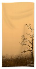 Last Leaves Bath Towel