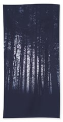 Hand Towel featuring the photograph Last Light In The Forest by Shane Holsclaw