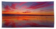 Last Light Topsail Beach Hand Towel