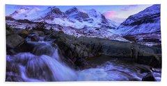 Last Rays On Andromeda Hand Towel by Dan Jurak