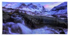 Bath Towel featuring the photograph Last Rays On Andromeda by Dan Jurak