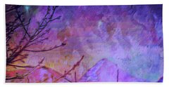 Hand Towel featuring the painting Last Twinkling Before Dawn by Anastasia Savage Ealy