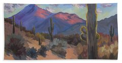 Late Afternoon Tucson 2 Hand Towel