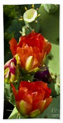 Late Bloomer Hand Towel by Kathy McClure