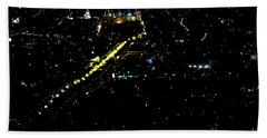 Bath Towel featuring the photograph Late Night In Cuenca, Ecuador by Al Bourassa