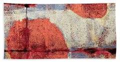 Latent Connections Hand Towel by Maria Huntley