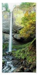 Latourell Falls Bath Towel