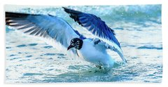 Laughing Gull Bath Towel