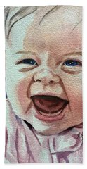 Laughter Bath Towel