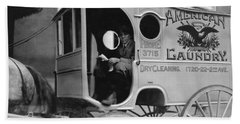 Laundry Delivery Boy - Birmingham 1914 Hand Towel