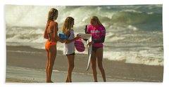 Laura Enever Surfer Girl Hand Towel