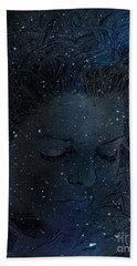 Eat At Judys Laura Palmer Carrie Page Nebula Bath Towel