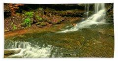 Laurel Highlands Cave Falls Hand Towel