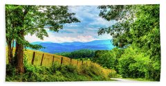 Laurel Hill View Hand Towel by Dale R Carlson