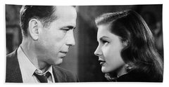 Lauren Bacall Humphrey Bogart Film Noir Classic The Big Sleep 2 1945-2015 Hand Towel