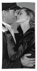 Lauren Bacall Humphrey Bogart To Have And Have Not 1944 Hand Towel