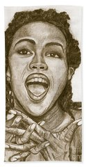 Lauryn Hill Hand Towel