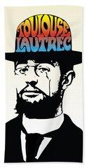 Lautrec Bath Towel by Gary Grayson