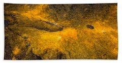 Bath Towel featuring the photograph Lava by M G Whittingham