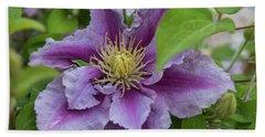 Lavender Flower Hand Towel