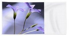 Lavender Flowers Bath Towel