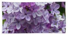 Lavender Lilacs Bath Towel