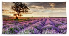 Lavender Sunrise Hand Towel