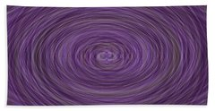 Lavender Vortex Bath Towel